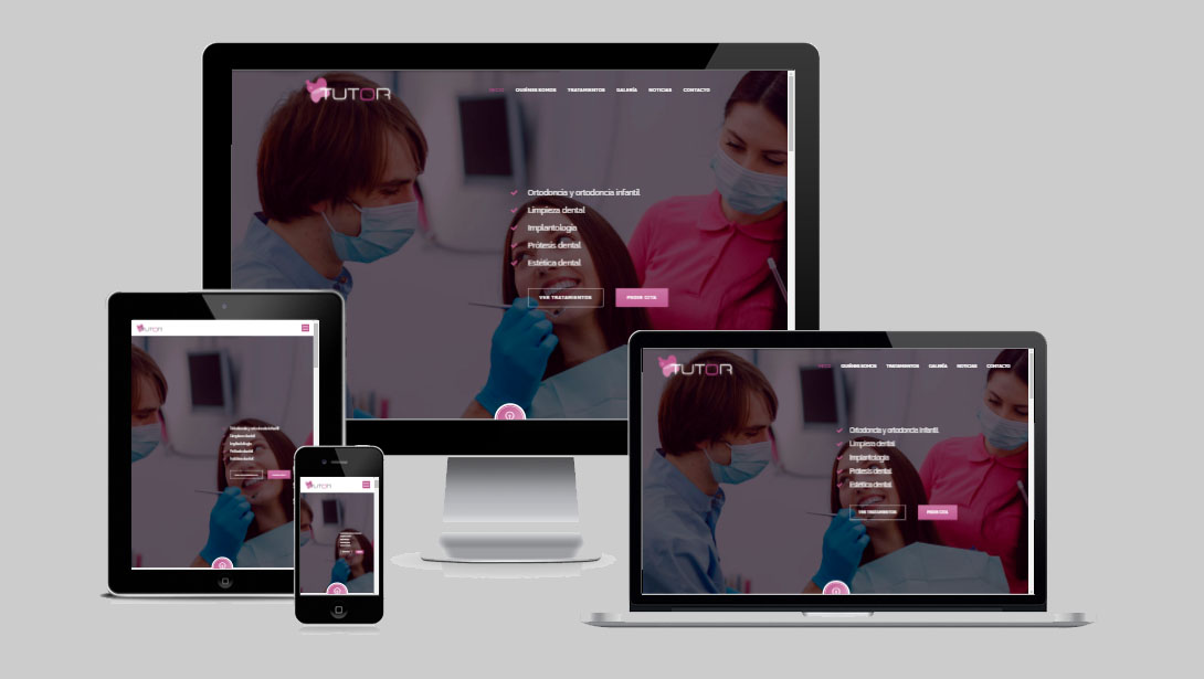 Nueva web Tutor Dental