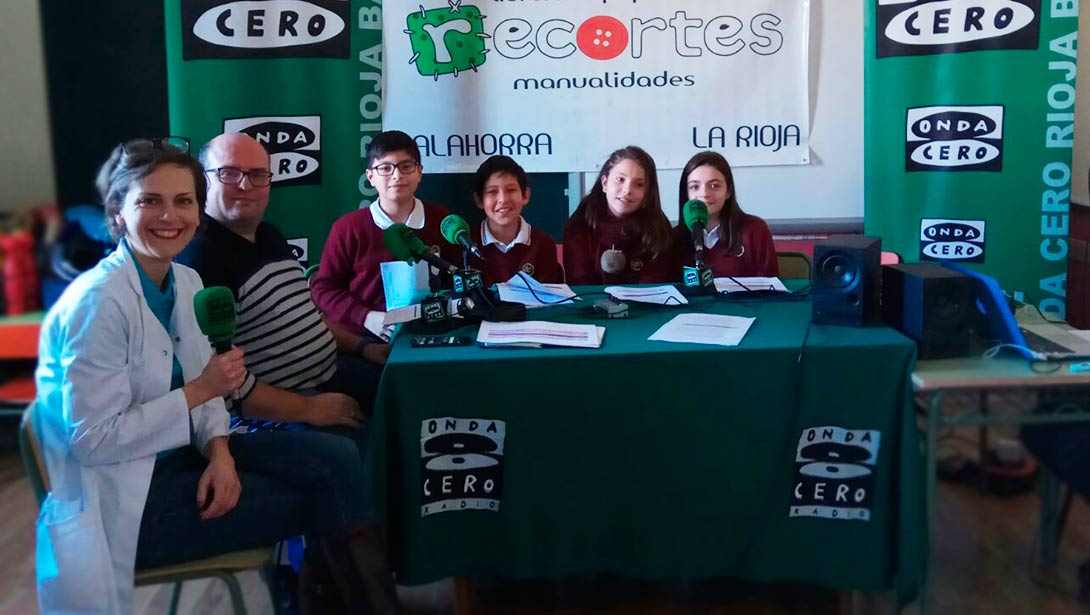 Tutor Dental ¡On Air! OndaCero y Colegios de Calahorra