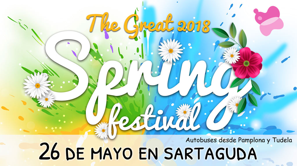 The Great SPRING FESTIVAL 2018 en Sartaguda